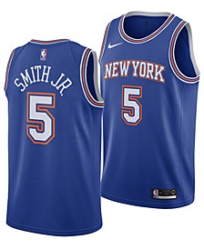 Men's Dennis Smith New York Knicks Statement Swingman Jersey