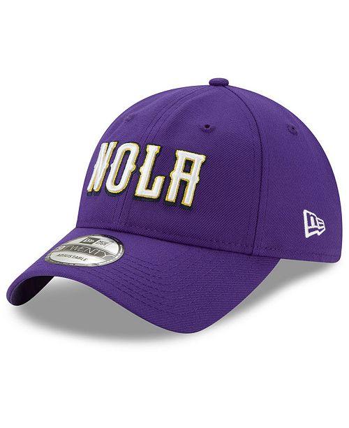 New Era New Orleans Pelicans City Series 9TWENTY Strapback Cap