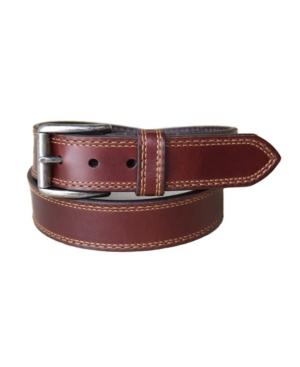 Men's Springcreek Oil Tanned Harness Leather Casual Work Jean Belt