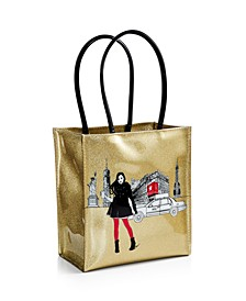 Rongrong Girl with Coffee Lunch Bag