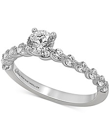Bliss Monique Luhillier Diamond Engagement Ring (1 ct. t.w.) in 14k White Gold