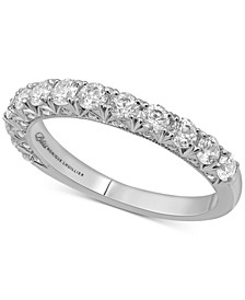 Diamond Anniversary Band (1 ct. t.w.) in 14k White Gold