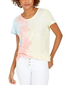 Tie-Dye Scoop-Neck T-Shirt, Created For Macy's