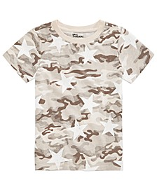 Toddler Boys Desert Camo Star T-Shirt, Created For Macy's