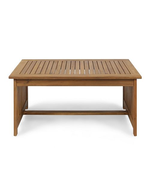 Noble House Carolina Outdoor Coffee Table