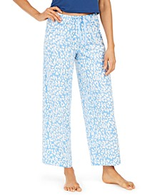 Cotton Temp Tech Animal-Print Pajama Pants