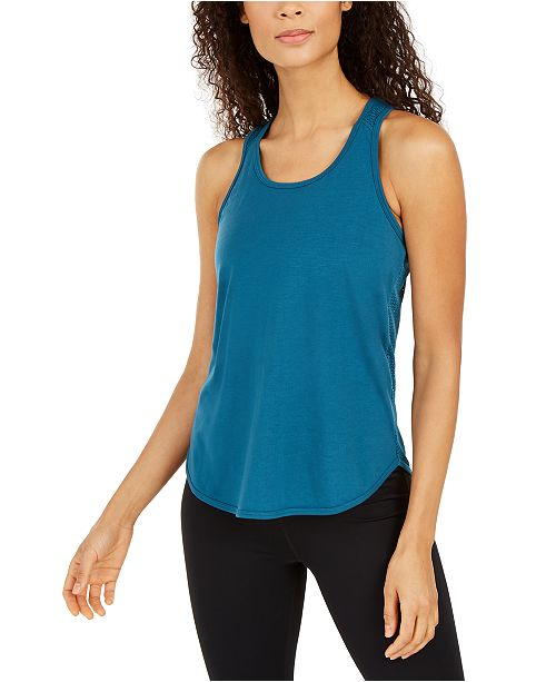 Ideology Mesh Racerback Tank Top, Created for Macy's