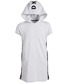 Big Girls Hooded Sweatshirt Dress