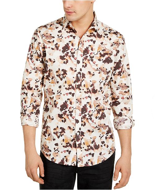 INC International Concepts INC Men's Timo Floral Shirt, Created For Macy's