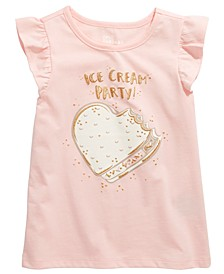 Little Girls Ice Cream Party T-Shirt
