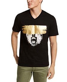 INC Men's Bear Face Graphic T-Shirt, Created for Macy's