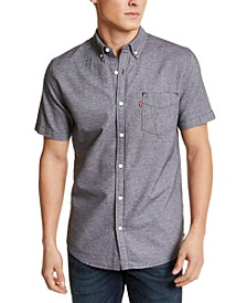 Men's Chambray Button-Down Shirt