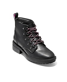 Briana Grand Lace-Up Hiker Boots