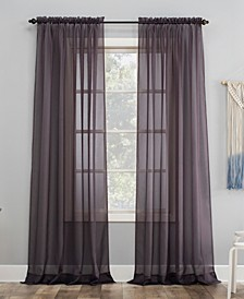"""No. 918 Sheer Voile 59"""" x 63"""" Curtain Panel"""