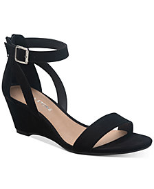 SUN + STONE Jossie Wedge Sandals, Created for Macy's