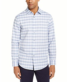 Men's Stretch Check Shirt, Created for Macy's