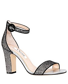 Sianna High Block Heel Sandals