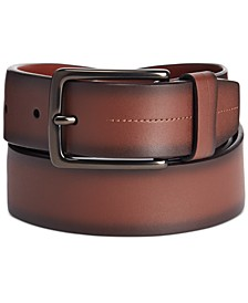 Men's Burnished-Edge Belt