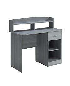 Techni Mobili Office Desk w/ Hutch