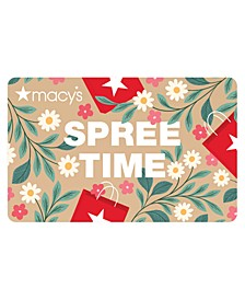 Spree Time E-Gift Card