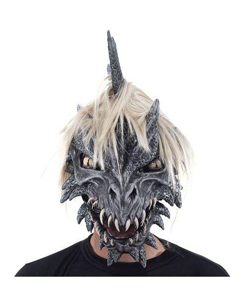 Zagone Studios ZagOne Size Studios Monroe The Dragon Latex Adult Costume Mask One Size