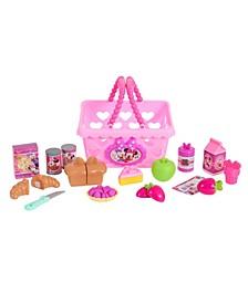 Disney Junior Minnie's Happy Helpers Bowtastic Shopping Basket