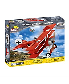 Historical Collection Fokker DR.1 Red Baron Plane