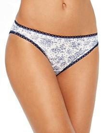 Pretty Cotton Bikini Underwear, Created for Macy's