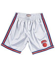 Men's New York Knicks Platinum Swingman Shorts