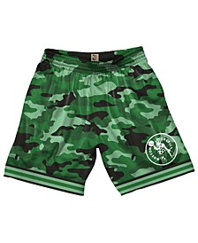 Men's Boston Celtics Camo Mesh Shorts