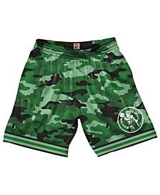 Men's Boston Celtics Camo Mesh Shorts