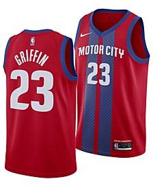 Men's Blake Griffin Detroit Pistons City Edition Swingman Jersey