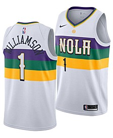 Men's Zion Williamson New Orleans Pelicans City Edition Swingman Jersey