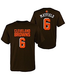 Big Boys Baker Mayfield Cleveland Browns Mainliner Player T-Shirt