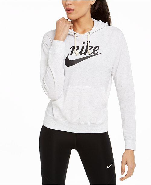 Nike Sportswear Gym Vintage Logo Hoodie
