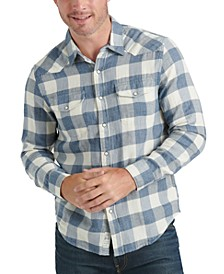 Men's Western Buffalo Plaid Shirt