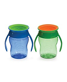 Baby Boys and Girls 7oz. 2 Pack Wow Cup