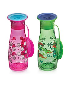 Little and Big Kids 12 oz. 2 Pack Mini Wow Cup