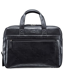 Vanizia Collection Top Zippered Double Compartment Laptop and Tablet Briefcase