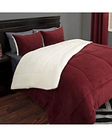 Home 3 Piece Full/Queen Comforter Set