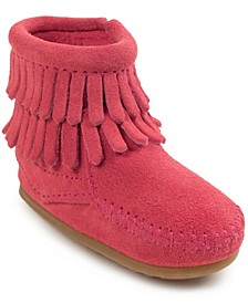 Baby Girls Double Fringe Boot