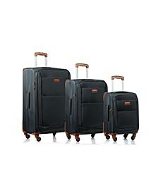 3-Pc. Classic Softside Luggage Set