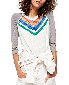 Spring Bound Long-Sleeve Top