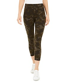 Camouflage Capri Leggings, Created for Macy's