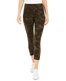 Style & Co Camouflage Capri Leggings, Created for Macy's