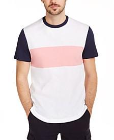Men's Colorblocked Ringer T-Shirt, Created for Macy's