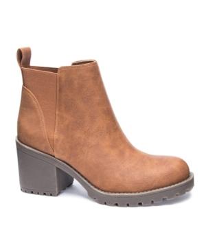 Lido Block Heel Booties Women's Shoes