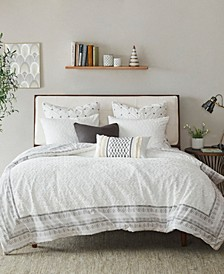 Mill Valley 3-Piece Full/Queen Reversible Duvet Cover Set