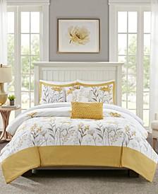 Meadow 5-Piece King/Cal King Comforter Set