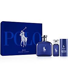Men's 3-Pc. Polo Blue Eau de Toilette Gift Set